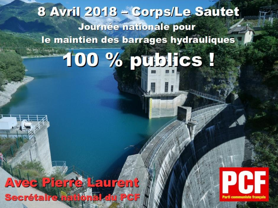 8 avril : Grande journée nationale contre la privatisation des barrages